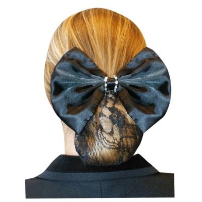 BR Haarstrik Glittersteen kant
