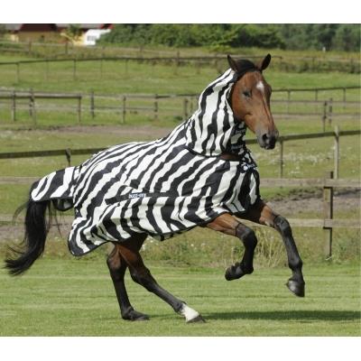 Bucas Buzz OFF Zebra halsdeken