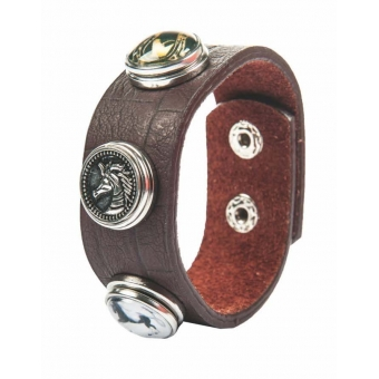 HKM Armband Button leer