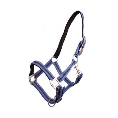 QHP gevoerd halster stripe