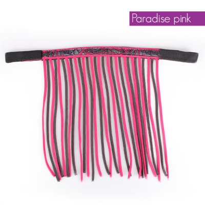 QHP Vliegenfrontriem Paradise Pink pony