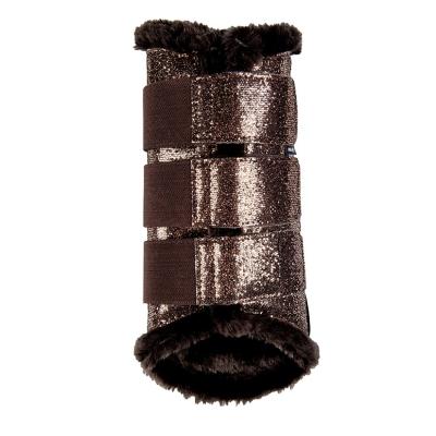 Beenbeschermers Comfort Glitter Brons