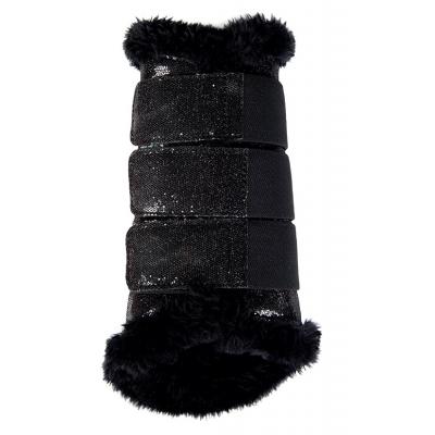 Beenbeschermers Comfort Glitter Zwart