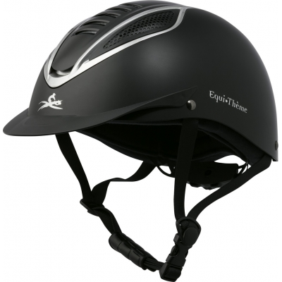 EQUI-THEME Chrome cap 52-56