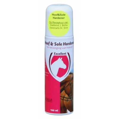 Hoof  Sole Hardener 120ml