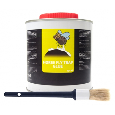 Horse Fly Trap Glue (Lijm) + Kwast