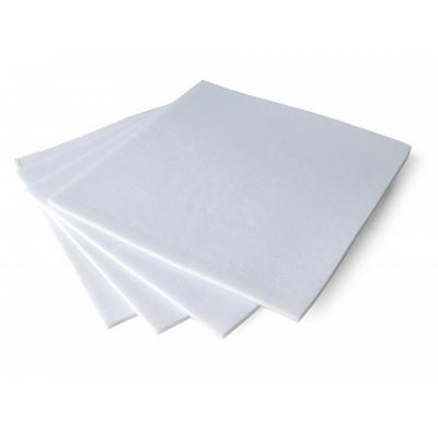 Onderlappen van Vilt set van 4 Wit