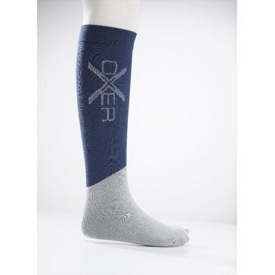 Oxer Horseriding Socks Donkerblauw