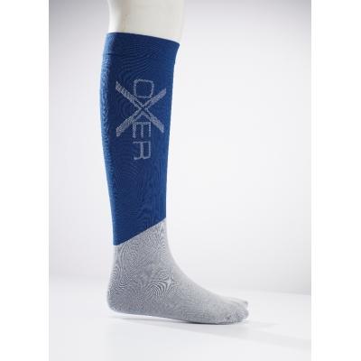 Oxer Horseriding Socks Marine