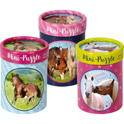 Paardenvriend mini puzzel