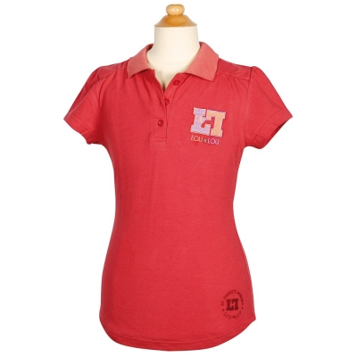 Poloshirt Loulou Sandy Holly Berry 128