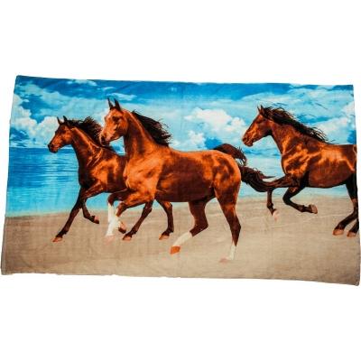 Strandlaken 3 Paarden